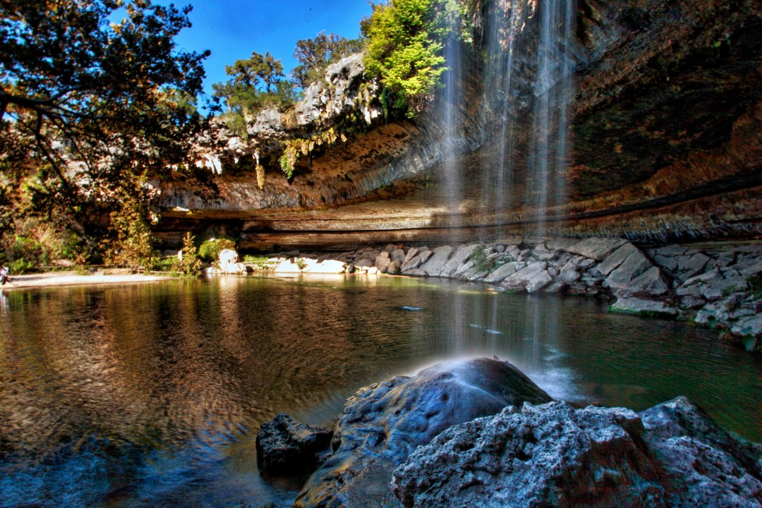 Hamilton Pool Waterfall-Surreal places to visit