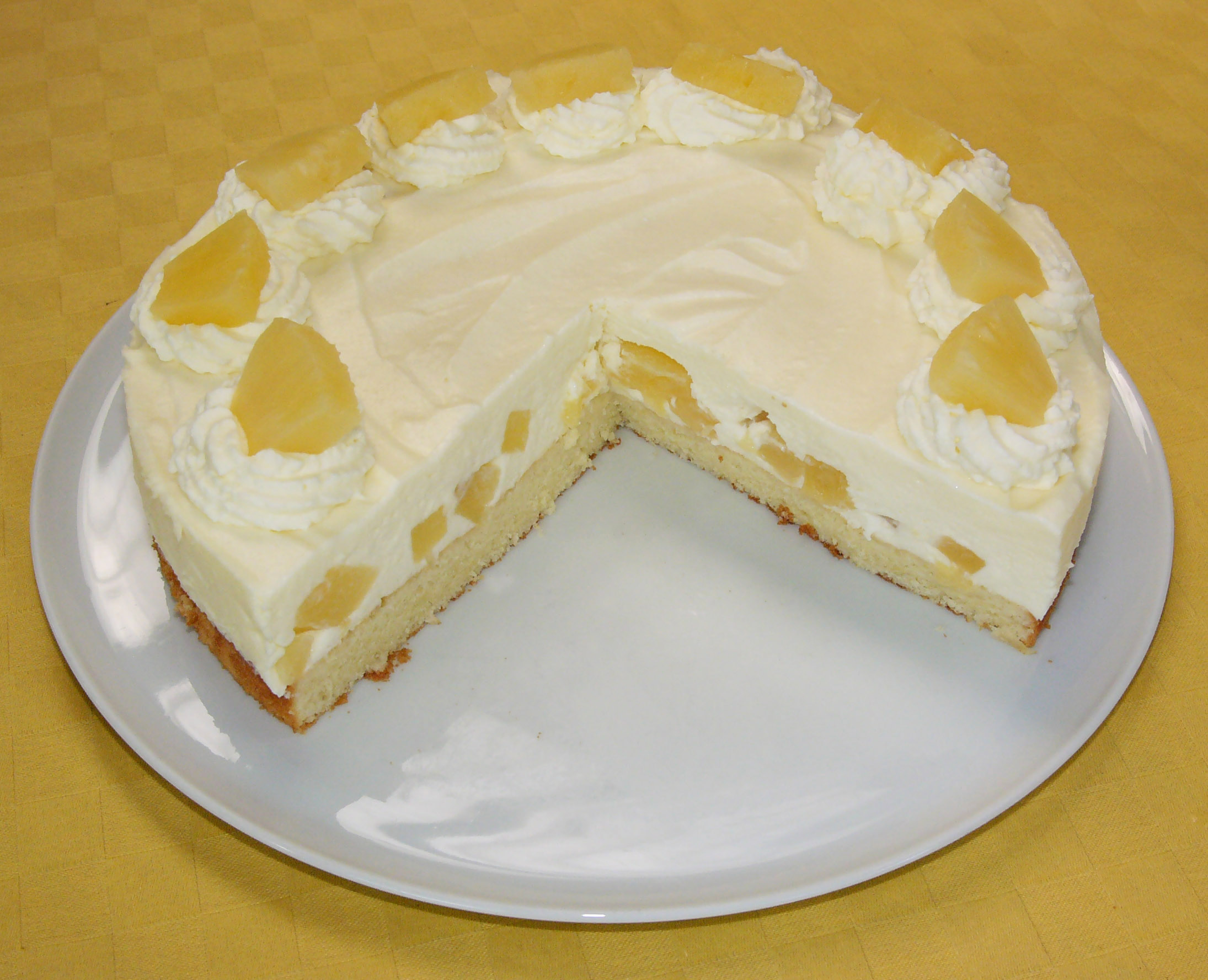 Pineapple Cake Images