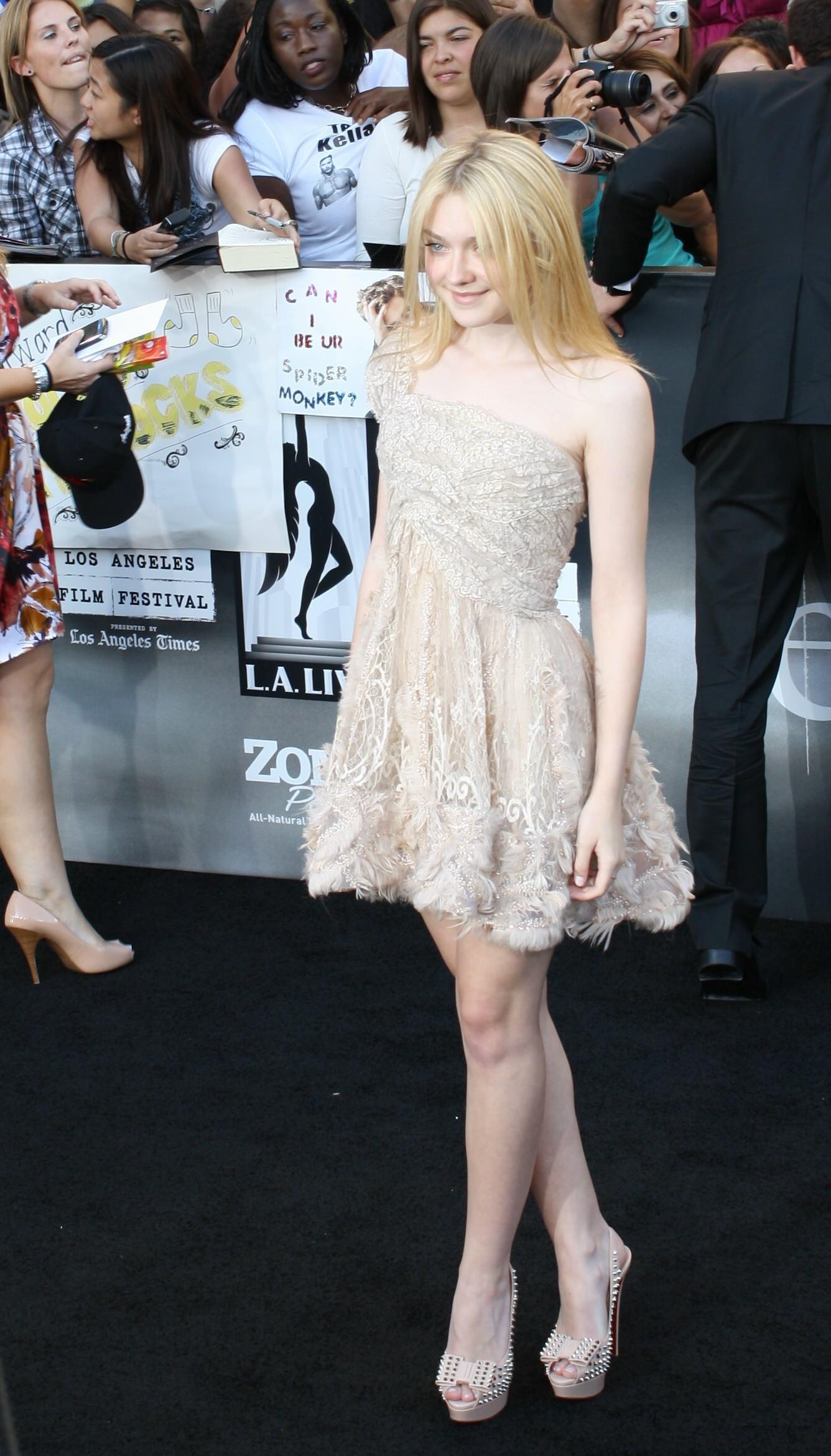 English: Actress Dakota Fanning at Twilight Sa...