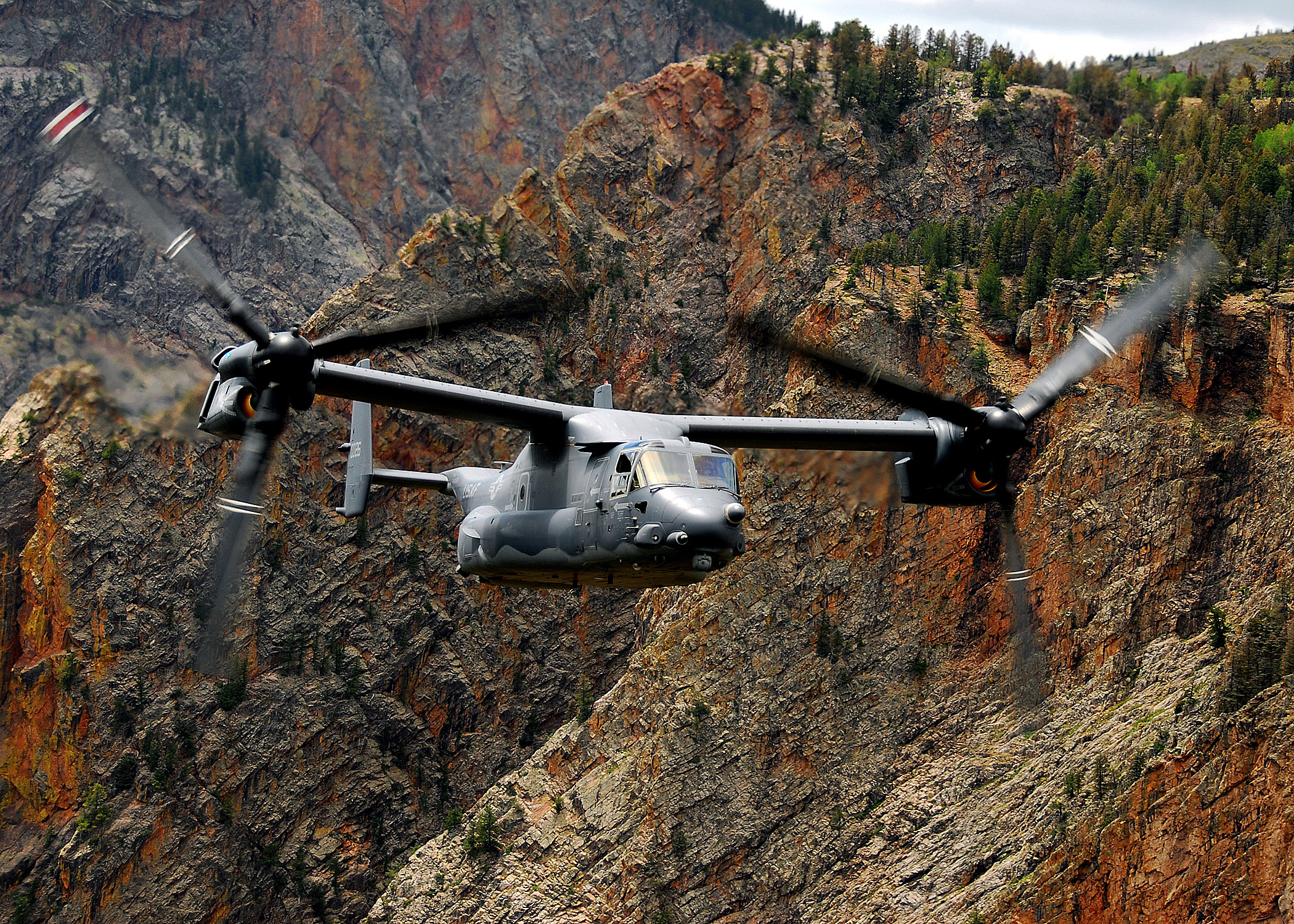 Local troops asked for transport: cv-22