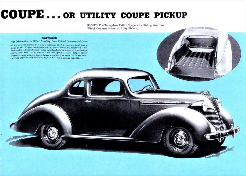 1956 chevrolet cars » Coup     utility   Wikipedia History edit