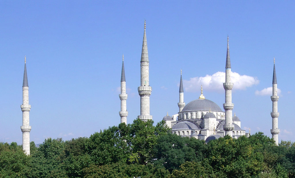 The Blue Mosque. Istanbul, Turkey.
