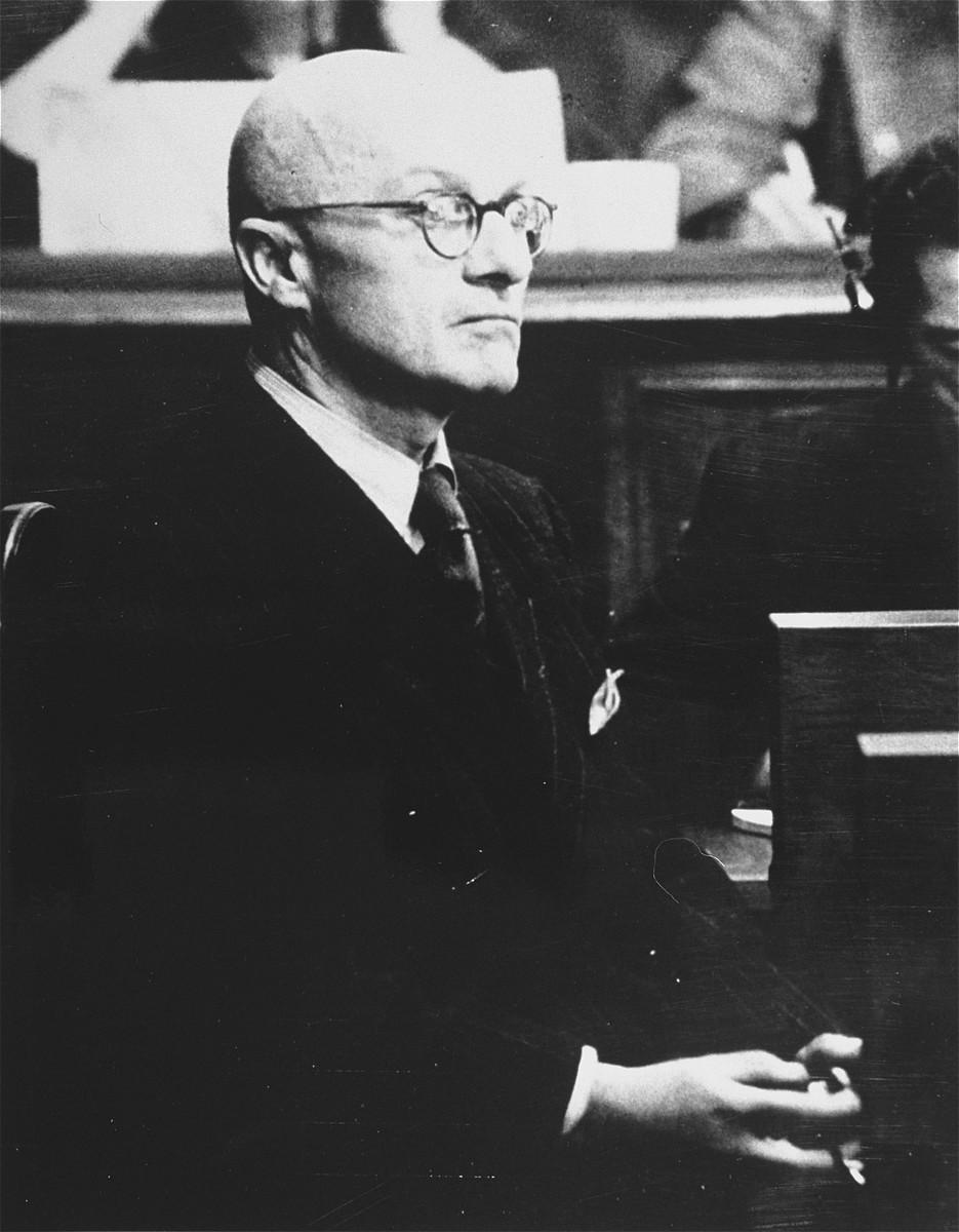 English: Defendant Gregor Ebner testifies on t...