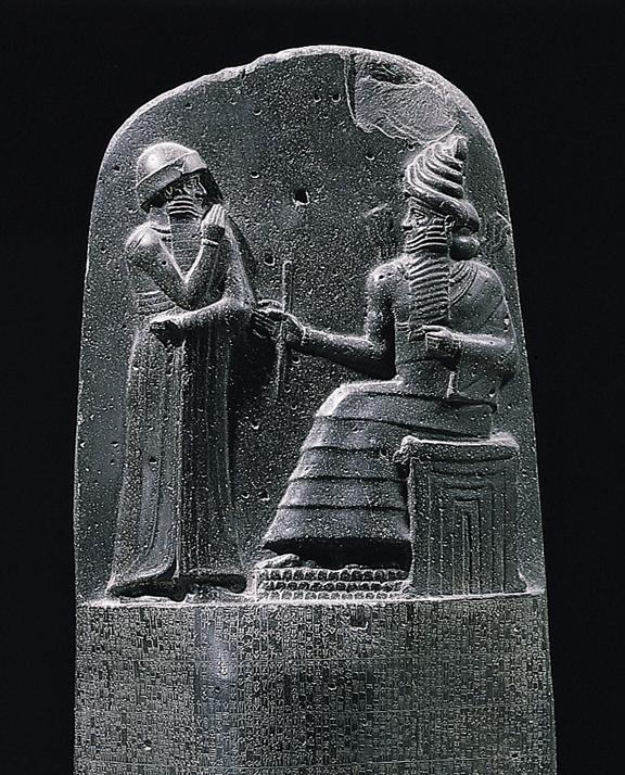 File:Milkau Oberer Teil der Stele mit dem Text von Hammurapis Gesetzescode 369-2.jpg