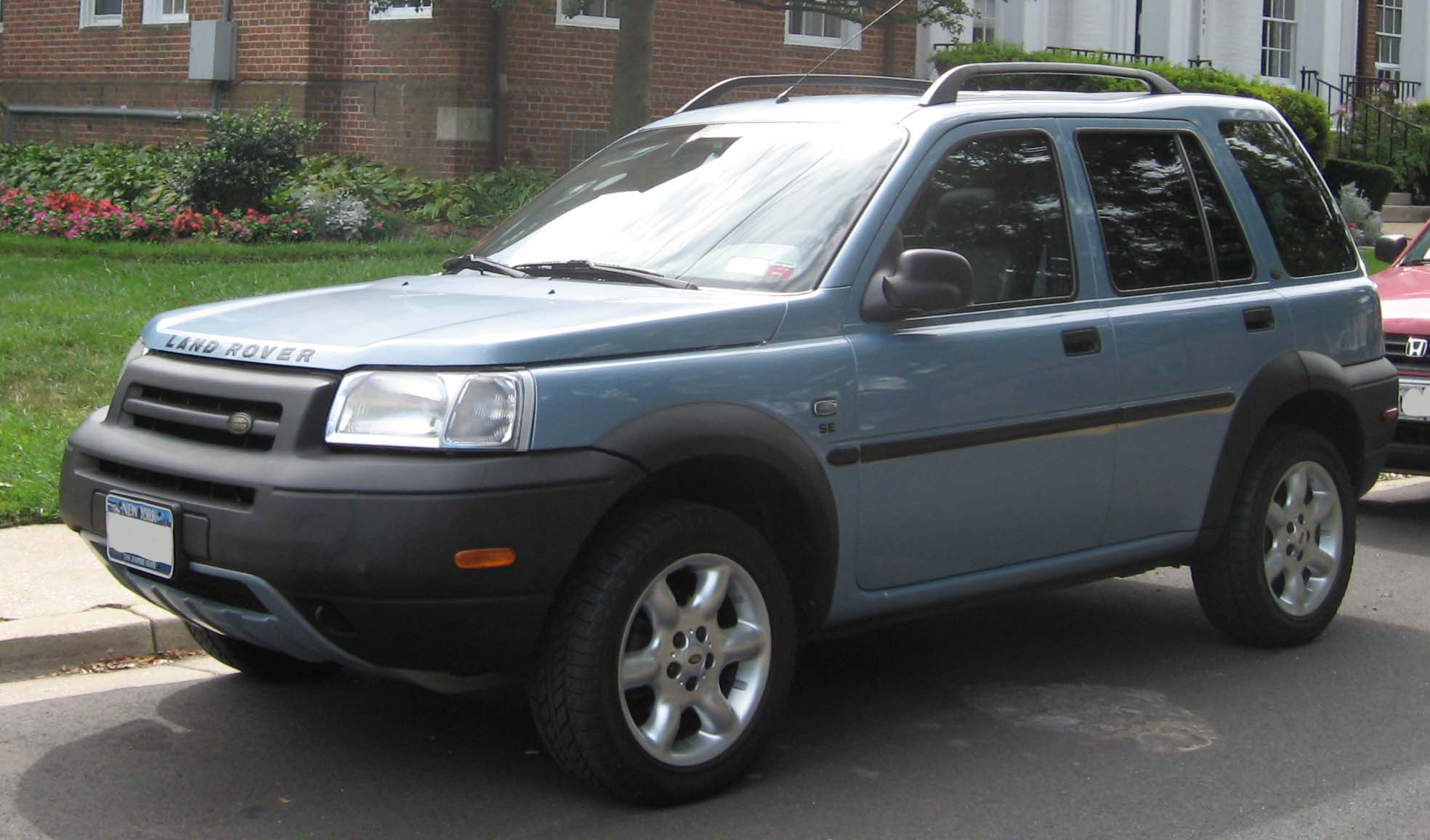 File 2002 2003 Land Rover Freelander Wikimedia mons