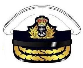 RN Admirals hat