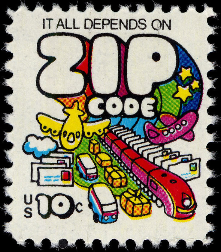 """USA 10-cent postage stamp, 1973: """"It all ..."""