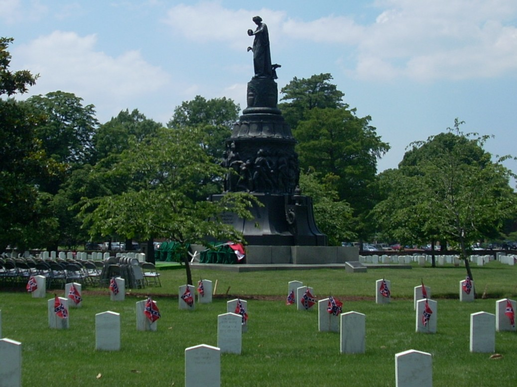 Confederates Buried At Arlington National Cemetery