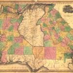 File 1823 Map Of Alabama And Georgia Counties Jpeg Wikimedia Commons