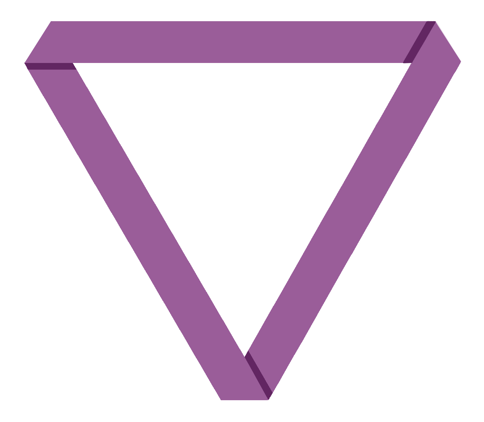 The Purple Mobius symbol for Polyamory, non-mo...