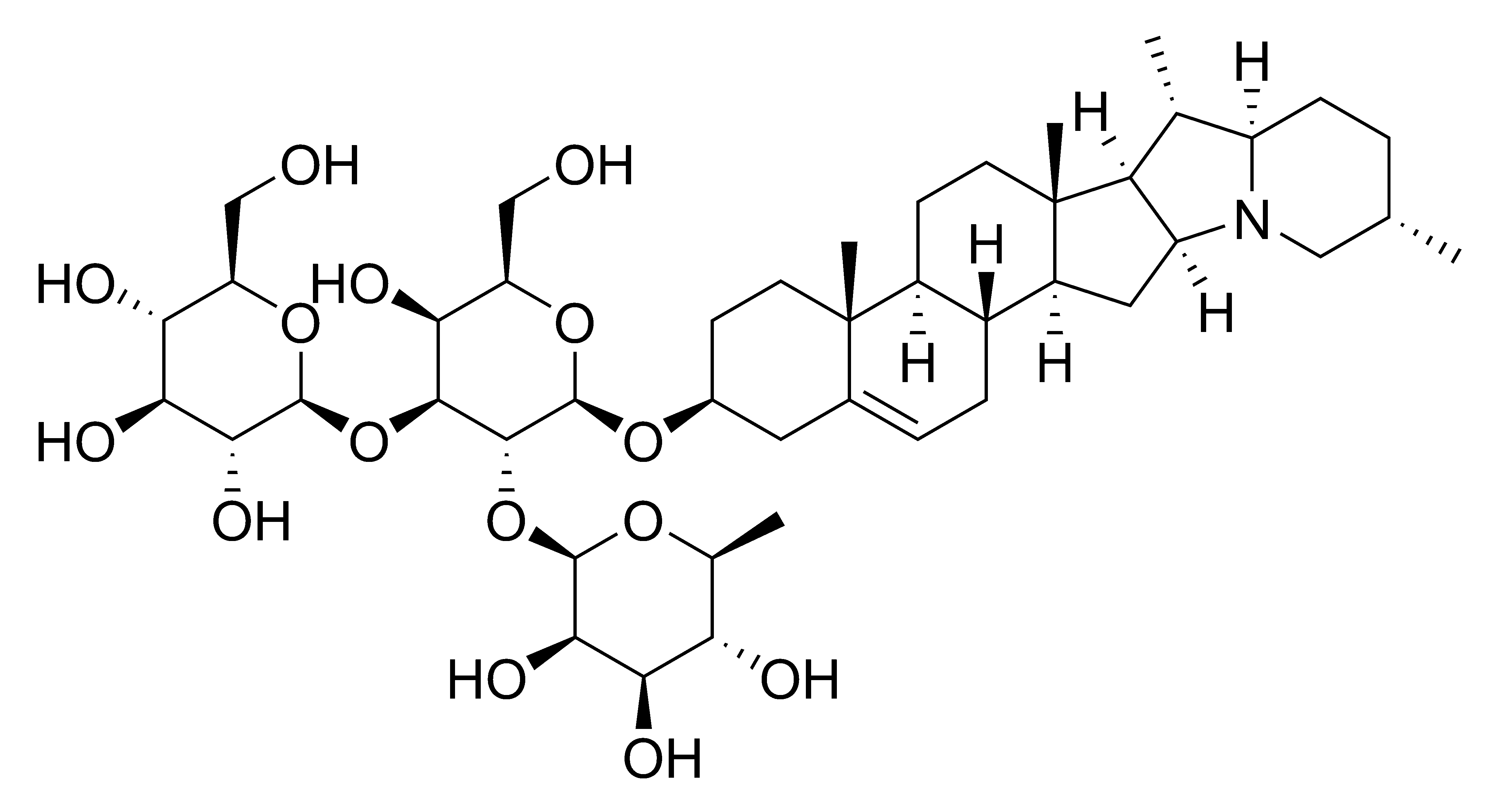 File Solanine Chemical Structure