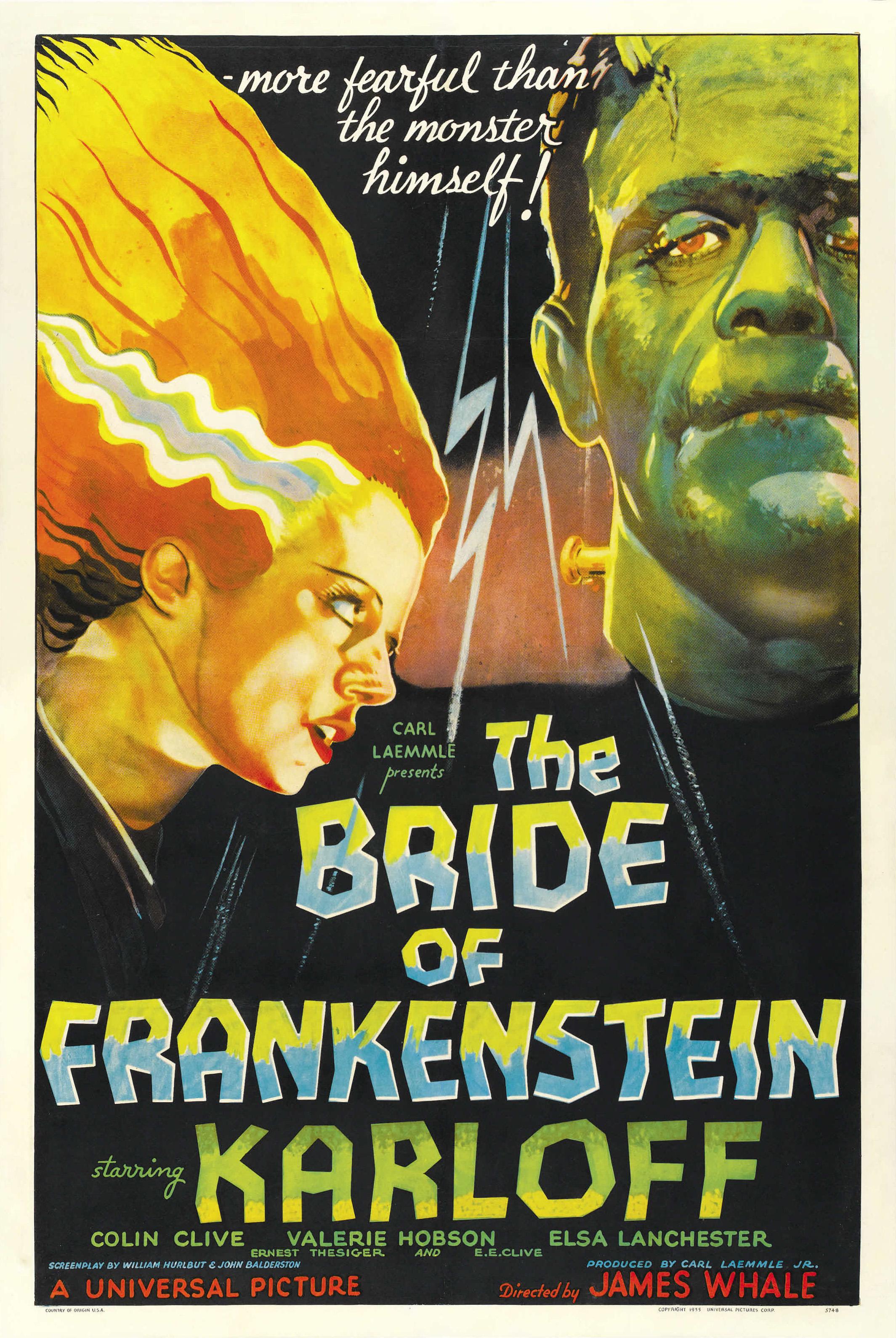bride of frankenstein wikipedia