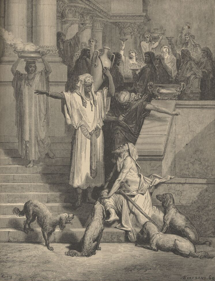 English: Print by Gustave Doré illustrating th...