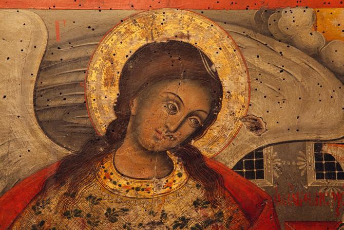 File:Ikona na Arhangel Gavril vo Sv. Blagoveštenie Prilepsko.jpg