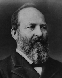 James a garfield illustration.3