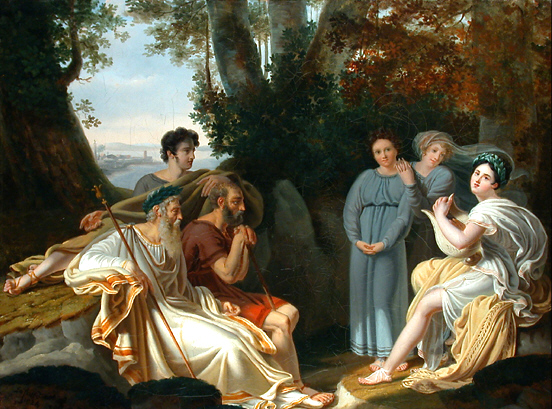 Lafond: Sappho sings for Homer