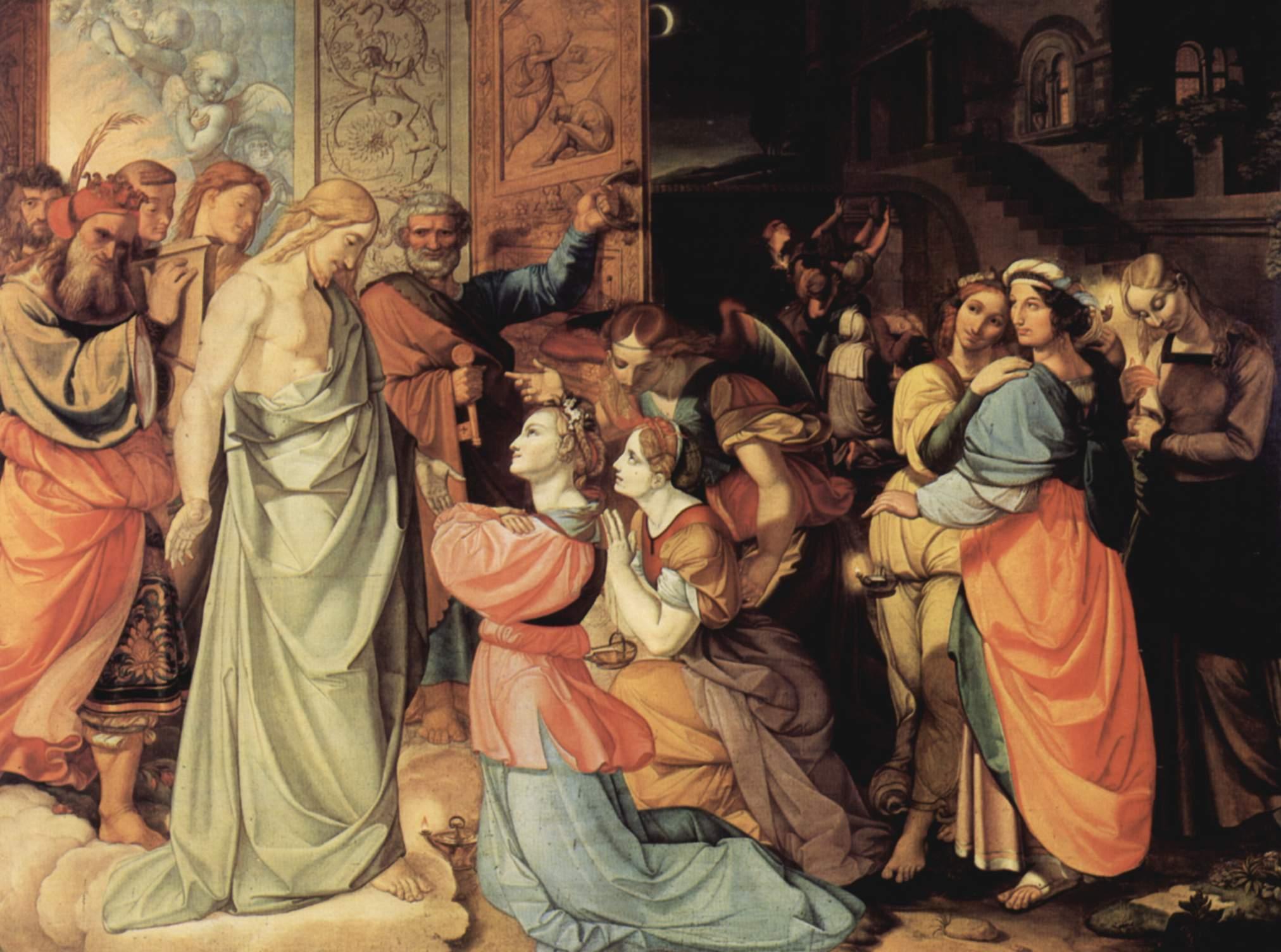 Peter von Cornelius Wise and Foolish Virgins