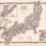 File 1862 Johnson Map Of Japan Geographicus Japan Johnson 1862 Jpg Wikimedia Commons