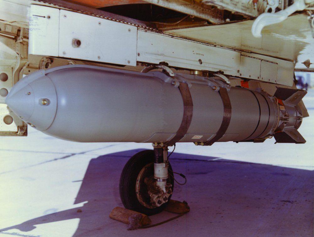 Weteye MK116 Mod O Nonpersistent GB Chemical Bomb - March 1964