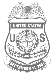 Badge design of the Federal Air Marshal Service.