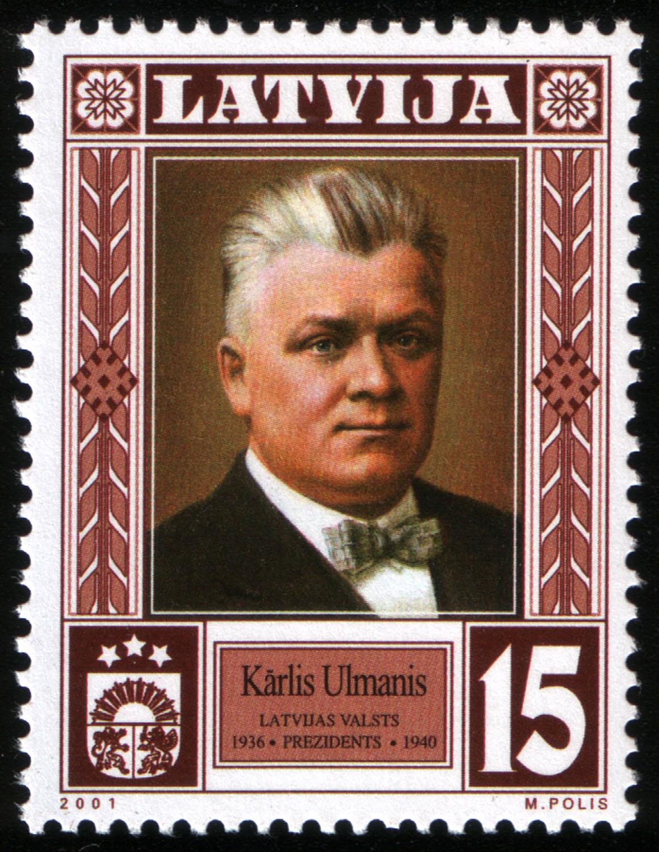Kārlis Augusts Vilhelms Ulmanis (1877-1942) - Wikicommons
