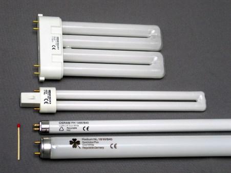 Contoh Lampu Fluorescent