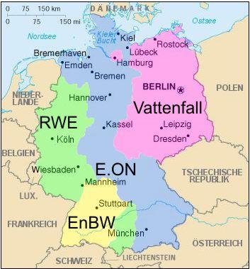 Das Energiekartell in Deutschland