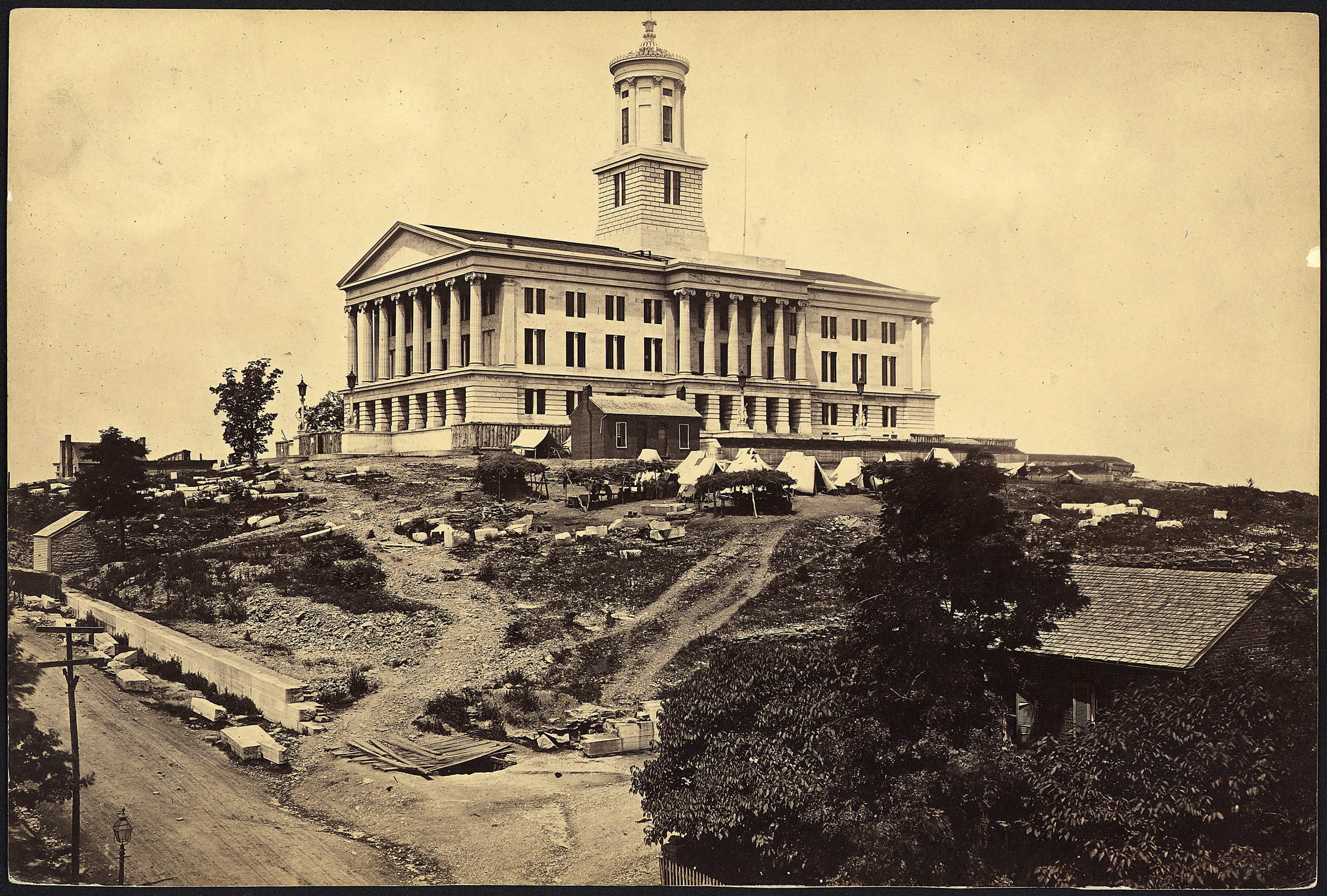 File Tennessee Nashville The State Capitol