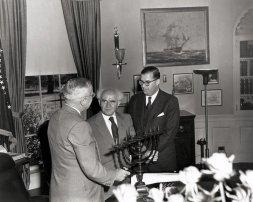 File:Truman receives menorah.jpg