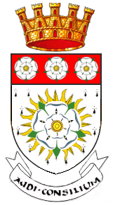 West Riding of Yorkshire coat of arms.