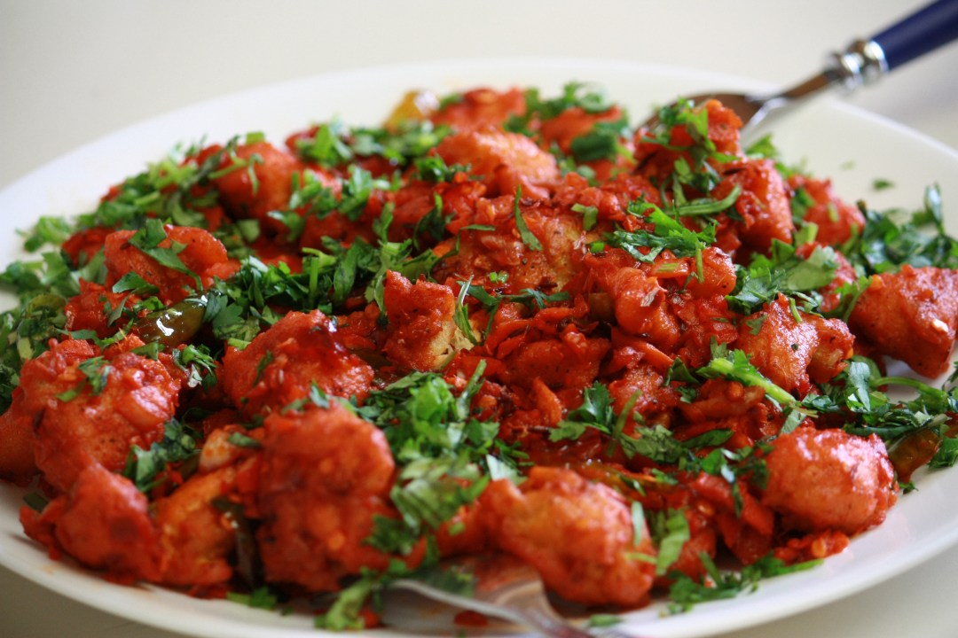 curry leaf recipe-Chicken 65- By Amiyashrivastava [GFDLhttp://www.gnu.org/copyleft/fdl.html) or CC BY-SA 3.0 (http://creativecommons.org/licenses/by-sa/3.0)], via Wikimedia Commons