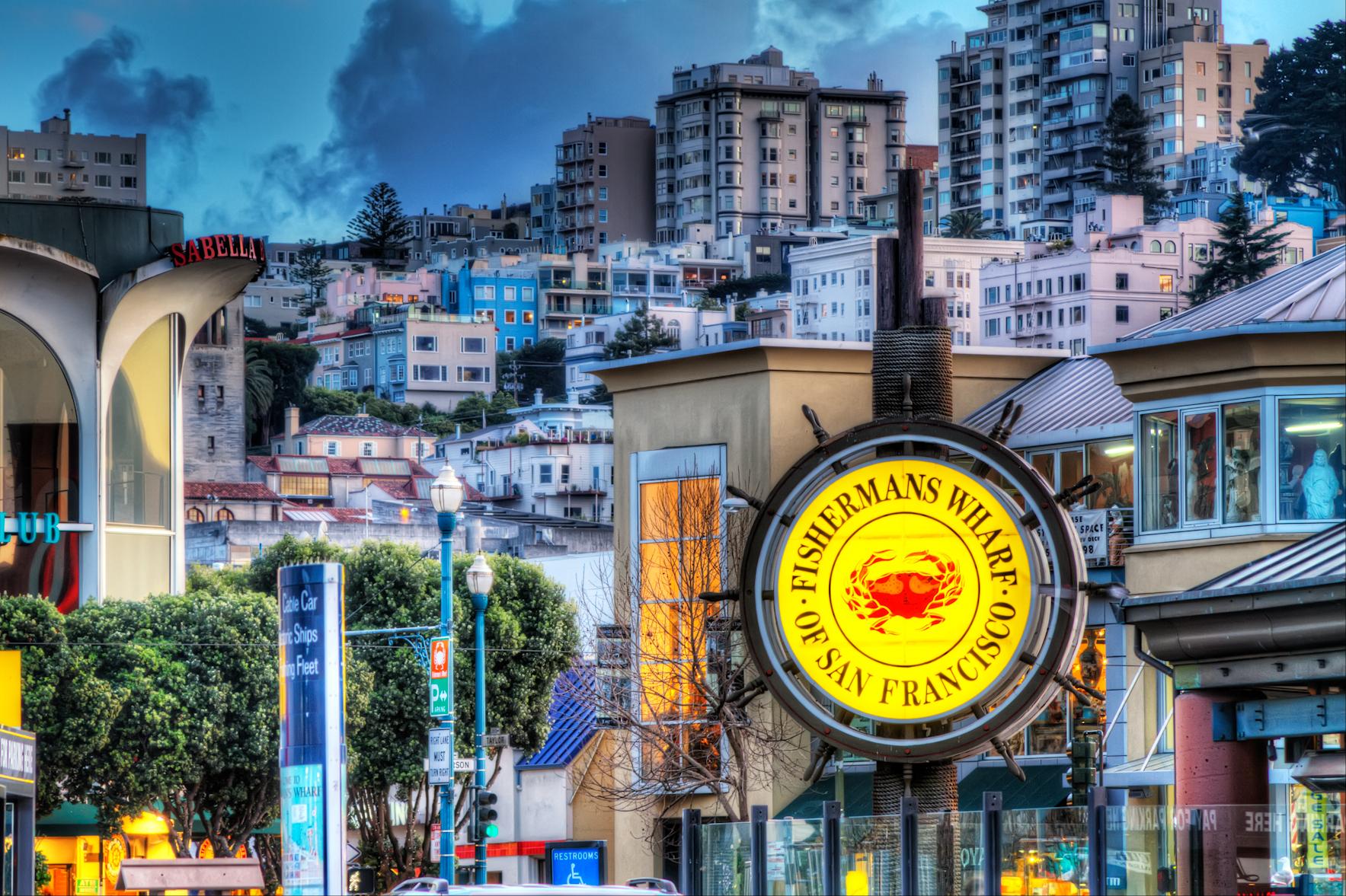 San Fran Fishermans Wharf Restaurants