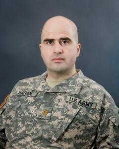 English: Major Nidal Malik Hasan, Fort Hood sh...