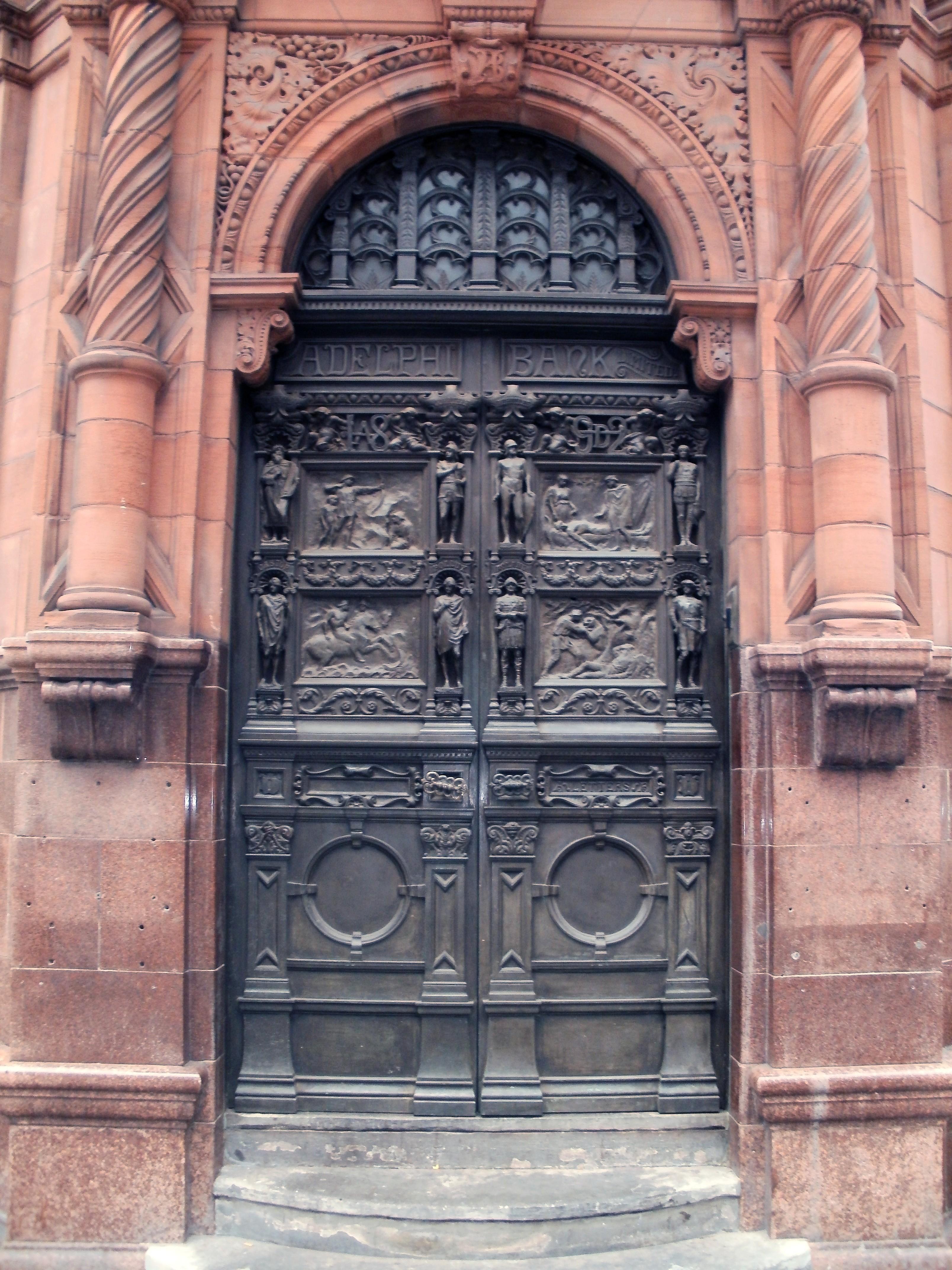 FileAdelphi Bank Door Castle Street Liverpool 22 Aug