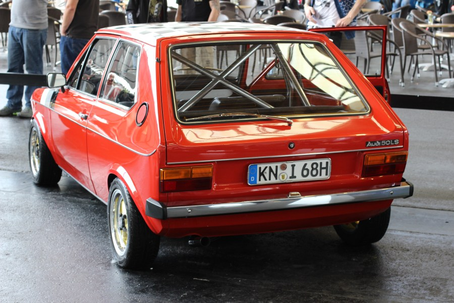 1976 volkswagen cars » Audi 50   Wikipedia Rear view