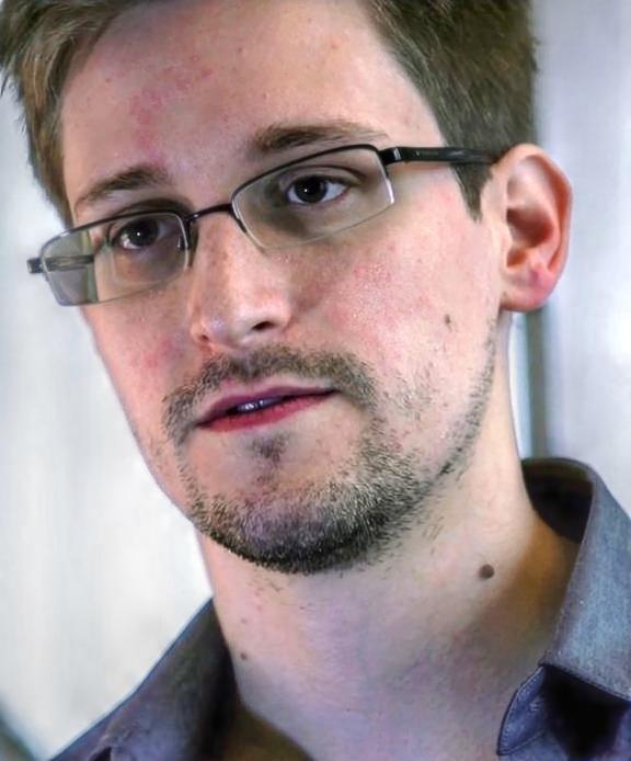 фото Э.Сноудена