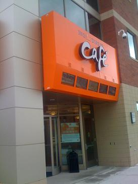 Entrance to the ING Direct Cafe in Saint Cloud...