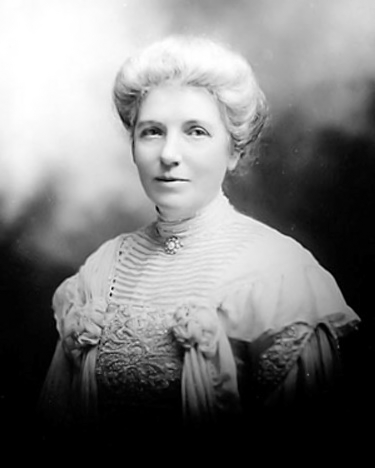 Social reformer, suffragist, writer, and first...