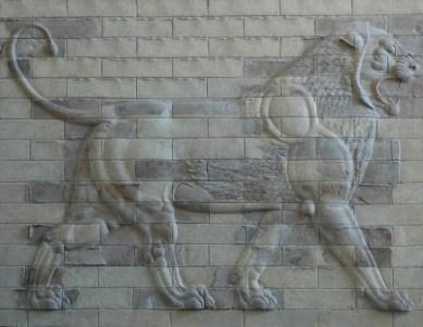 le lion de DARIUS II