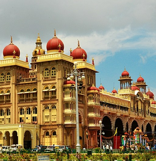 Mysore Palace, India (photo - Jim Ankan Deka)