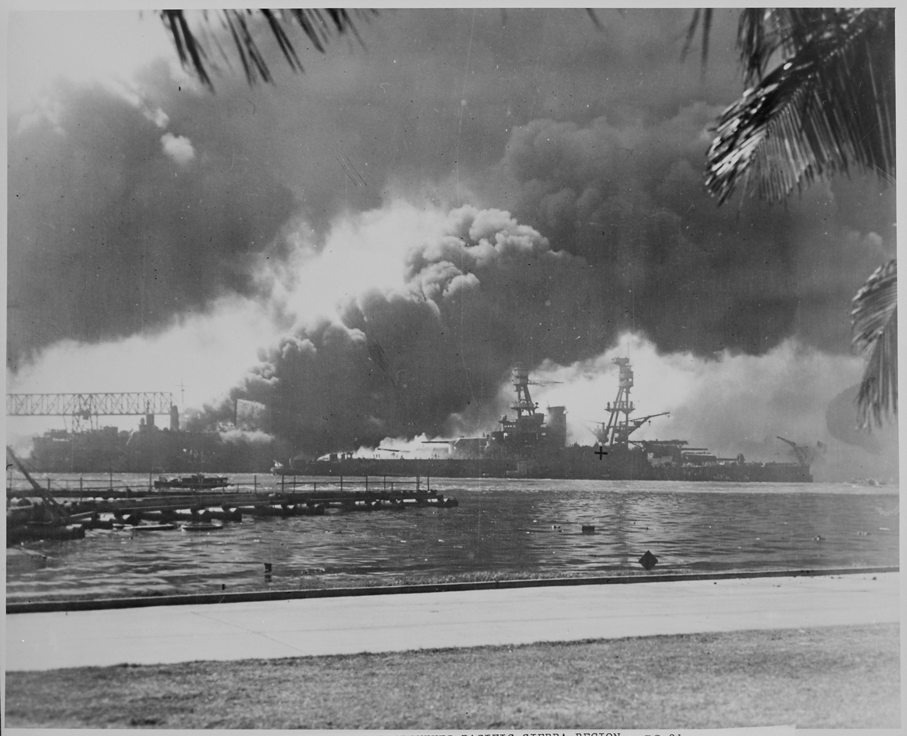 File Naval Photograph Documenting The Japanese On Pearl Harbor Hawaii Which Initiated Us