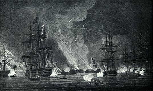 Bombardierung Algiers im Jahr 1816