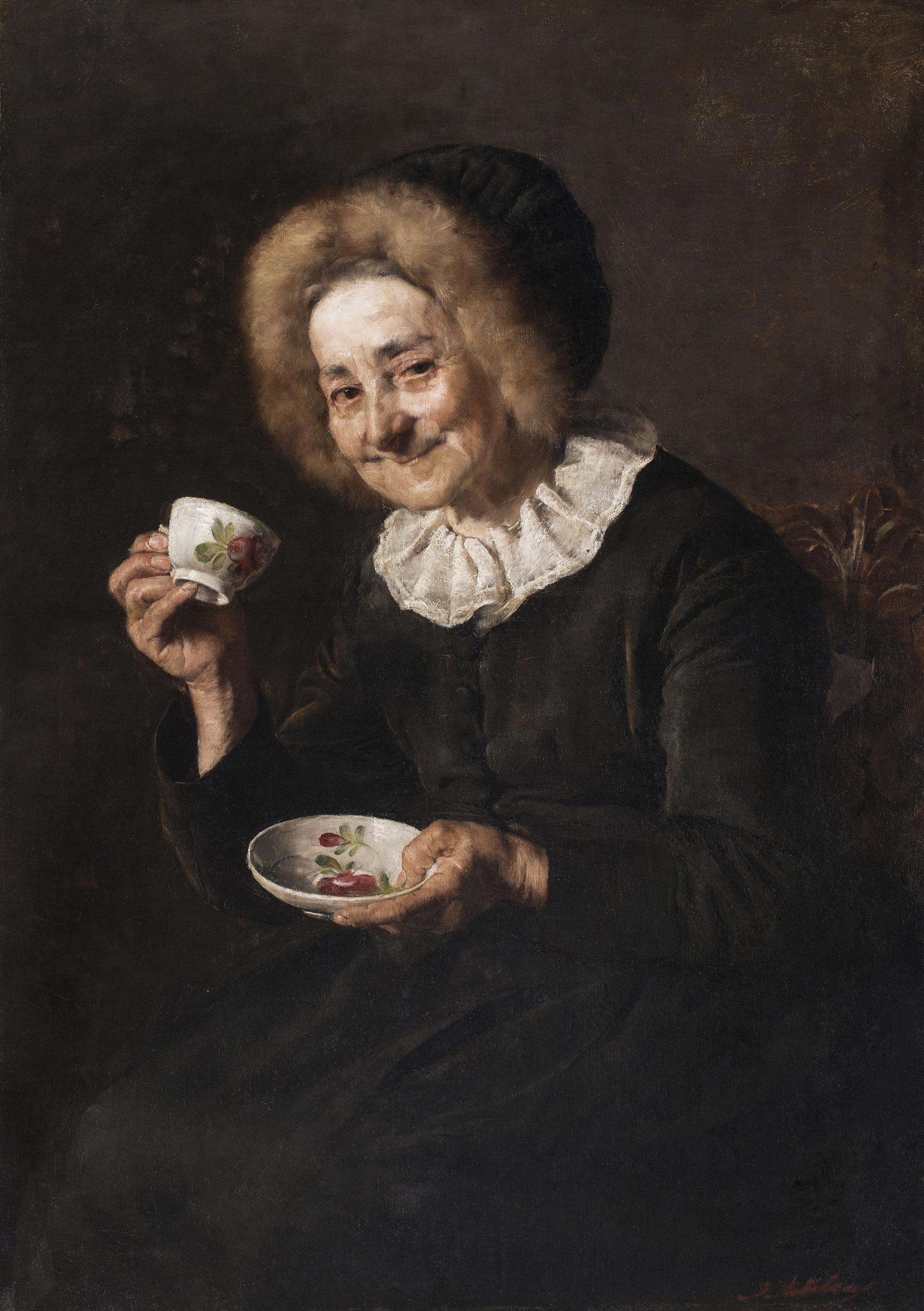 Kofetarika (1888), de Ivana Kobilca (1861-1926)