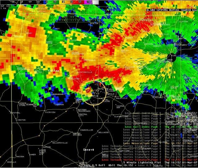 Tornado Radar Signatures General Weather Discussion