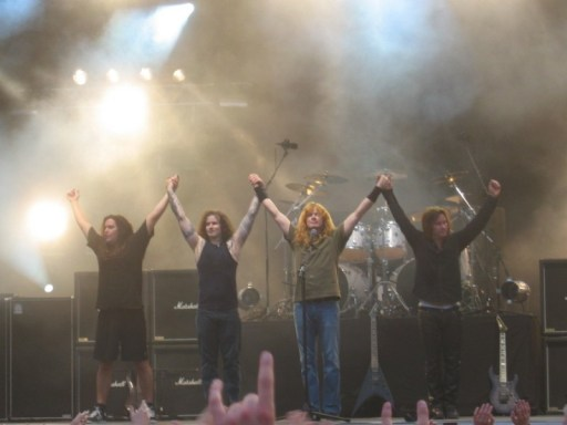 Megadeth at Sauna