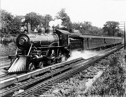 West Albany  New York   Wikipedia Engine 999 as it leads the Empire State Express through Palatine  New York  in 1905