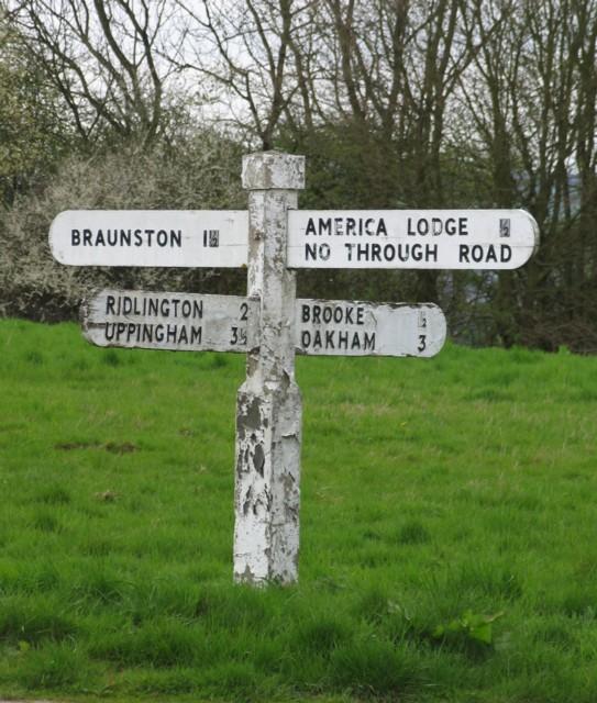 English: Signpost.