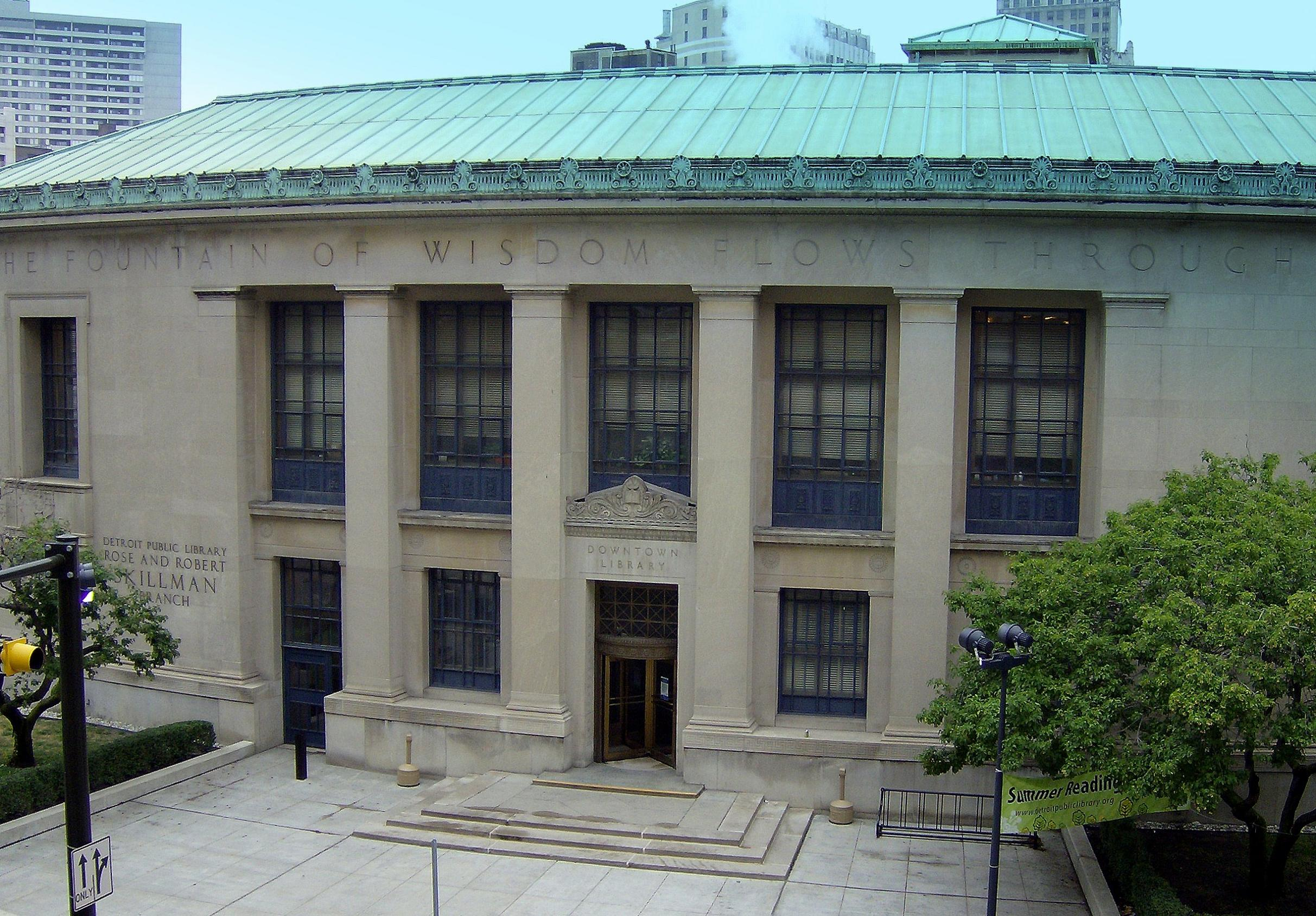 Skillman Library in Detroit