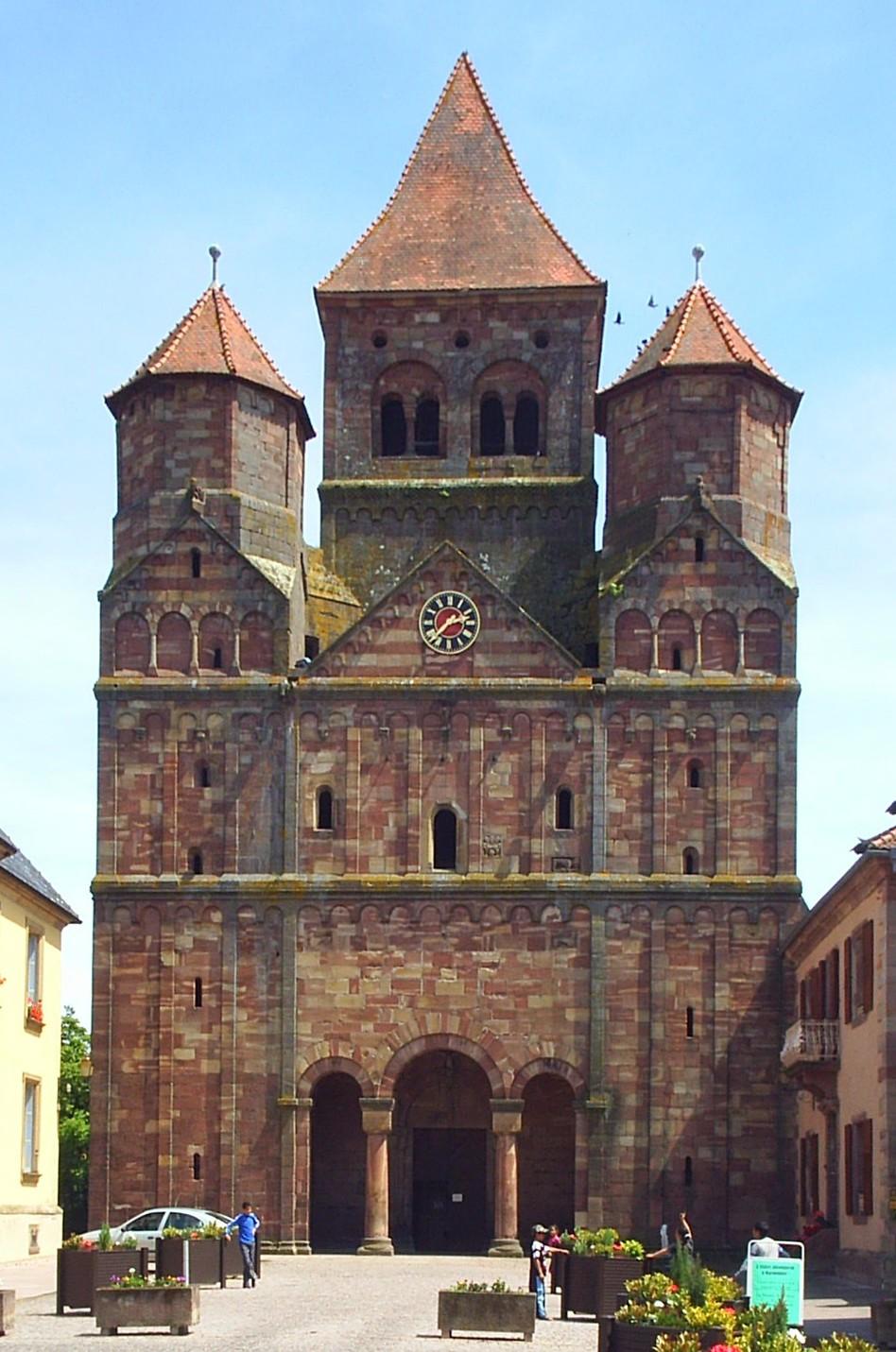 Marmoutier Abbey Alsace Wikipedia