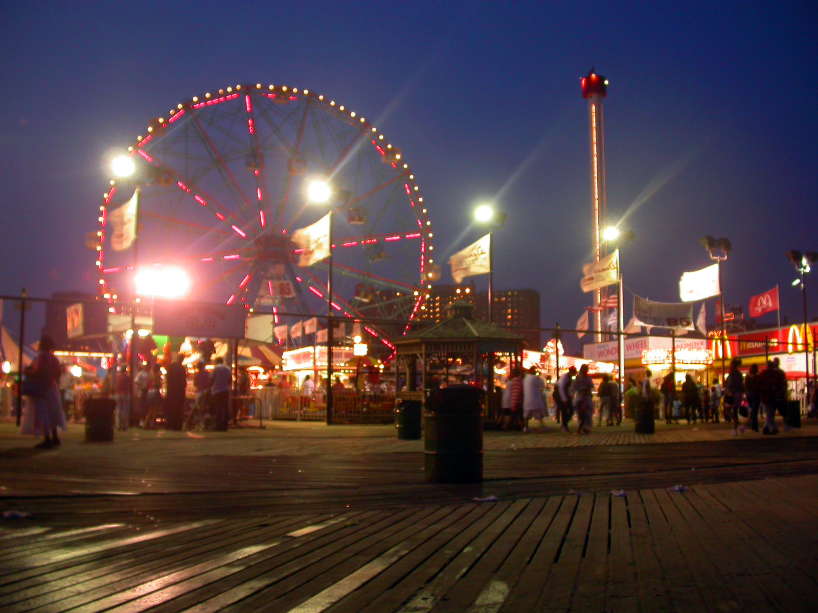 Astroland in a summer night, 2005